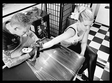 Inkfish tattoo shop rotterdam