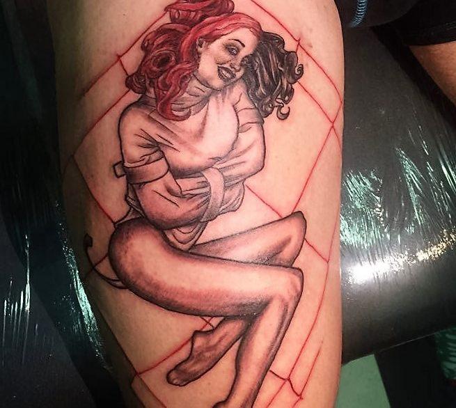 Inkfish tattooshop pinup women