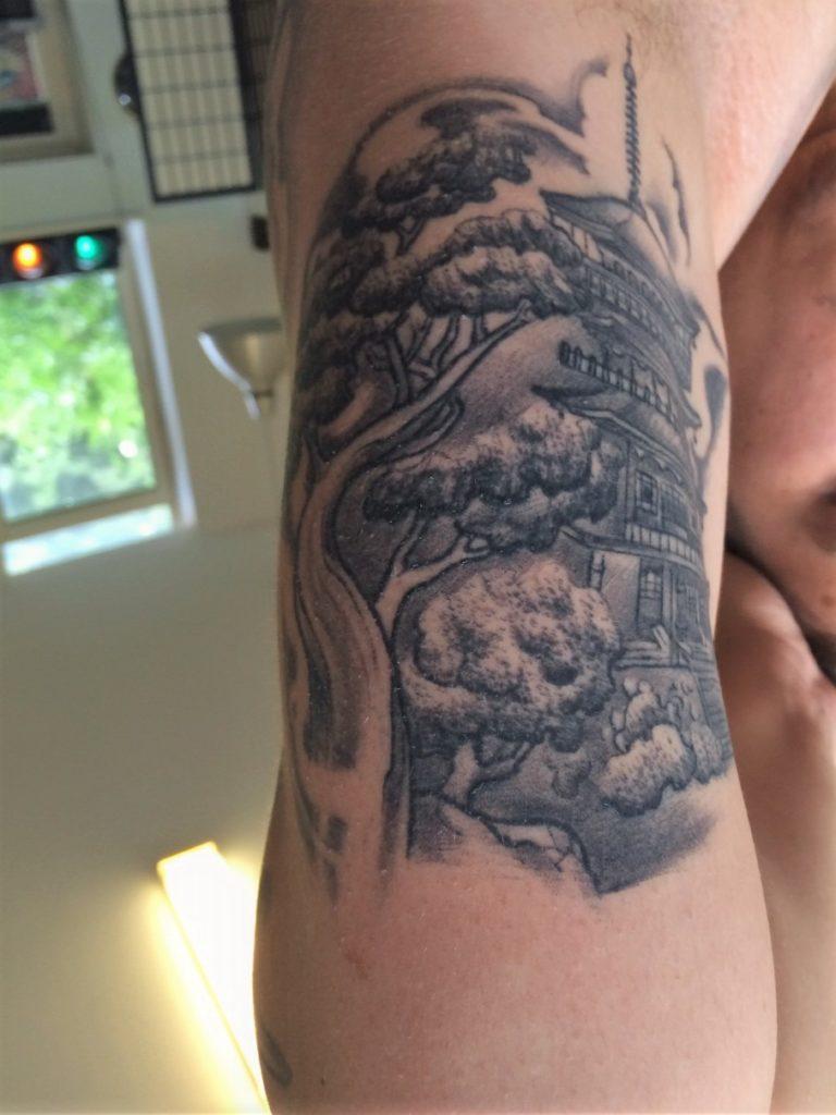 japanese tattoo temple