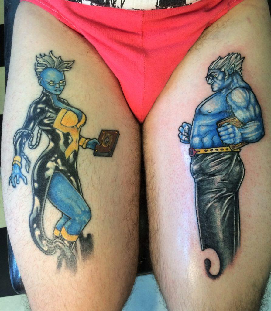 xmen tattoo superhero comics.